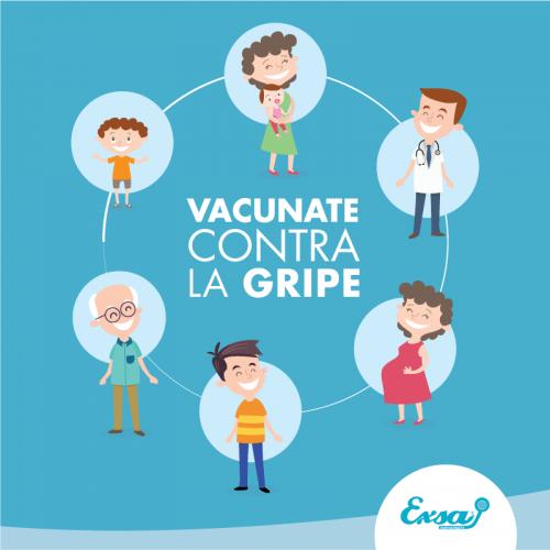 Vacunate contra la Gripe