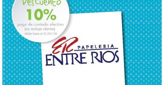 10% DTO PAGO EFECTIVO (no incluye ofertas). VÁLIDO HASTA el 31/01/18.